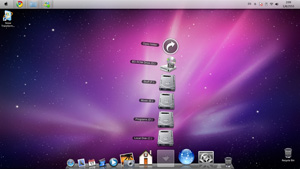 Windows 7 to Mac OS X Leopard