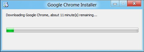 chrome installtion