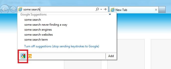 Google IE 10